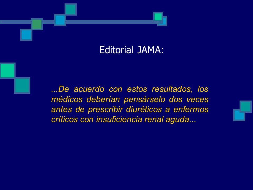 Editorial JAMA: