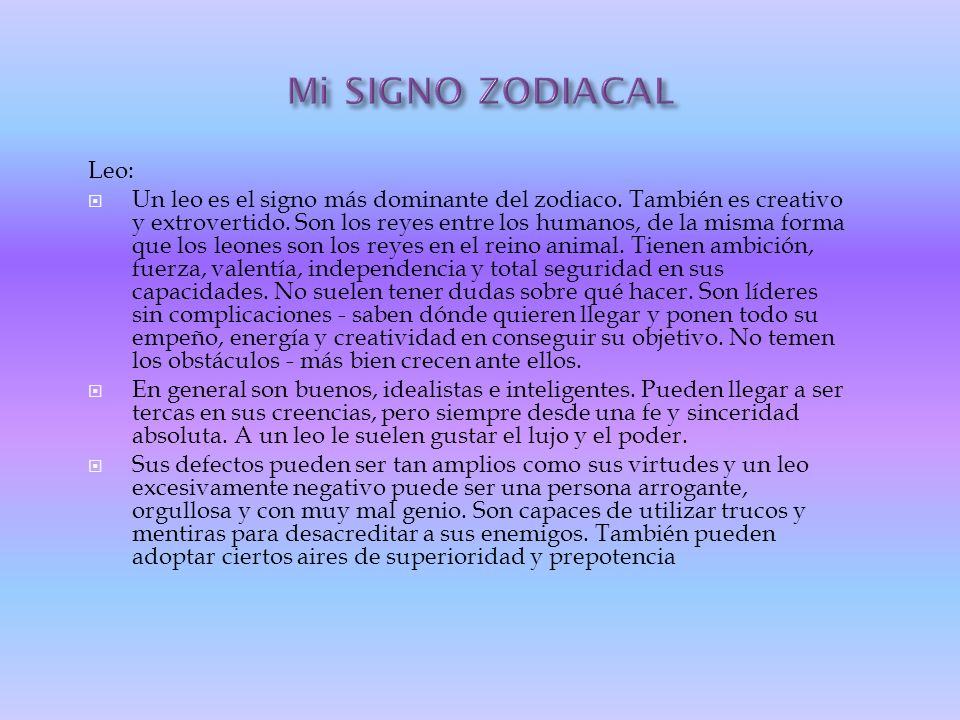 Mi autobiograf a ppt video online descargar - Mi signo zodiacal ...