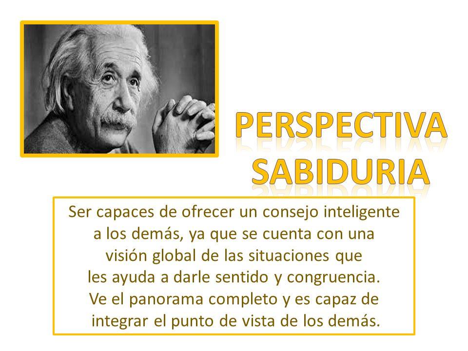 integrar el punto de vista de los demás.