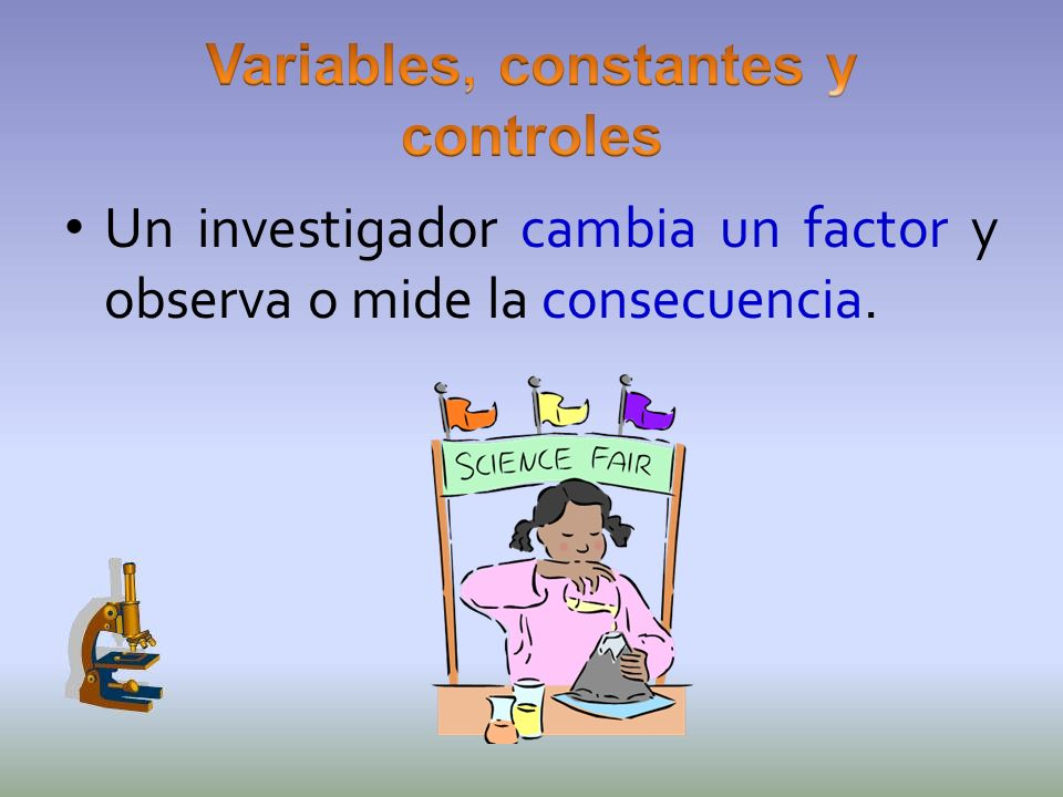 Variables, constantes y controles