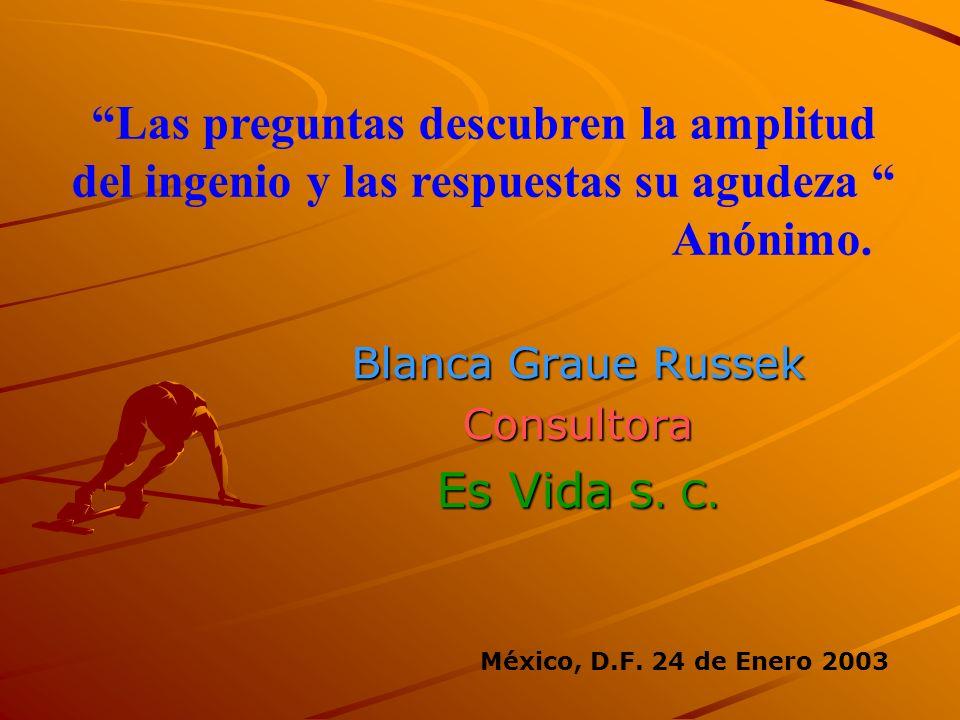 Blanca Graue Russek Consultora Es Vida S. C.