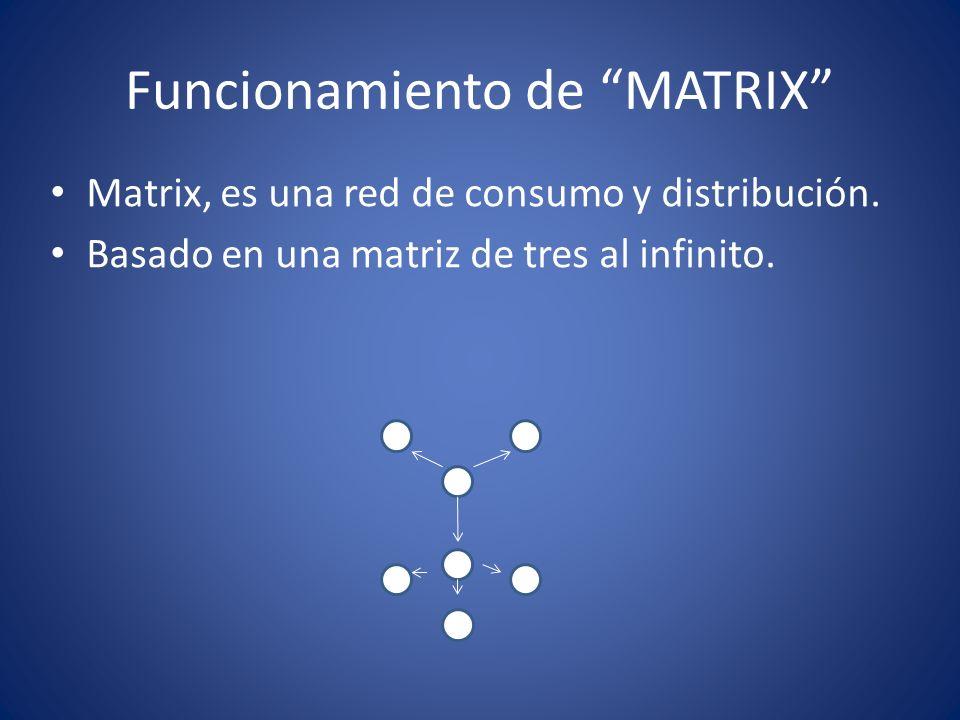 Funcionamiento de MATRIX