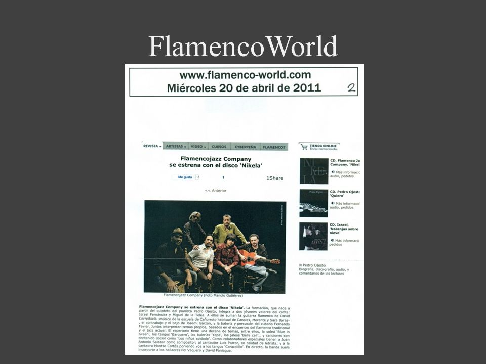 FlamencoWorld