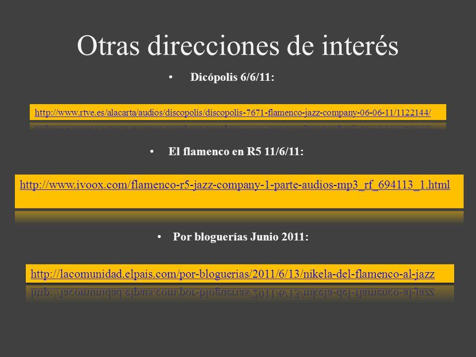 Otras direcciones de interés