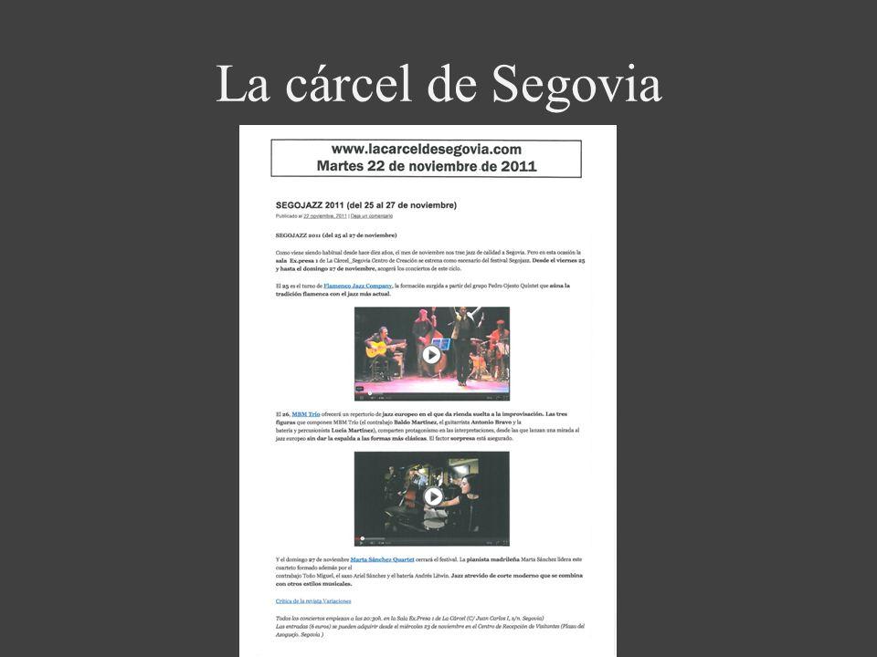 La cárcel de Segovia