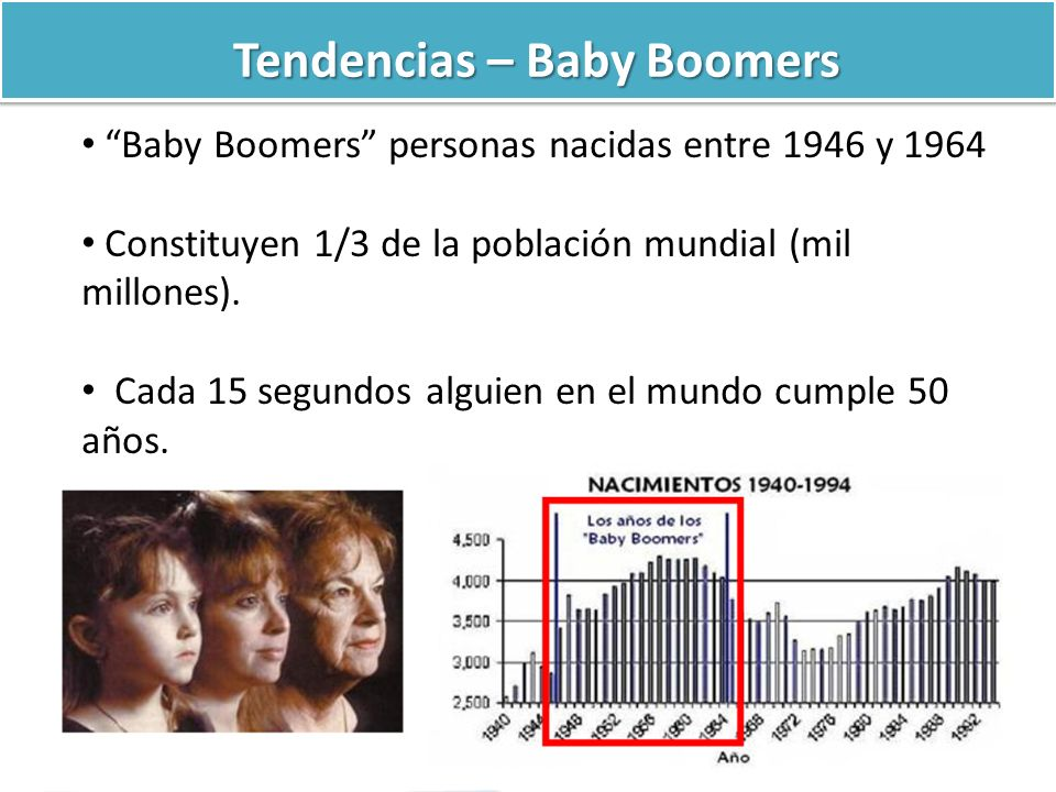Tendencias – Baby Boomers