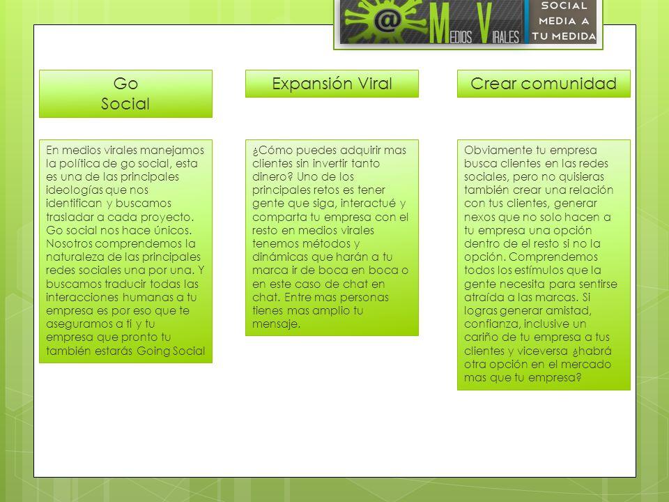 Go Social Expansión Viral Crear comunidad