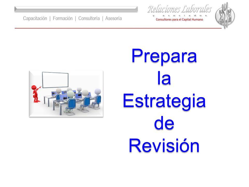 Prepara la Estrategia de Revisión