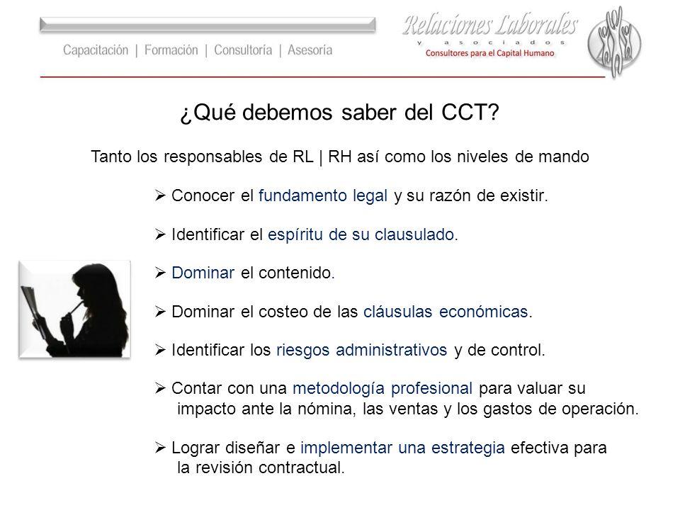 ¿Qué debemos saber del CCT