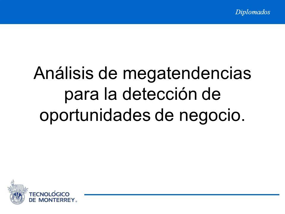 Análisis de megatendencias para la detección de oportunidades de negocio.