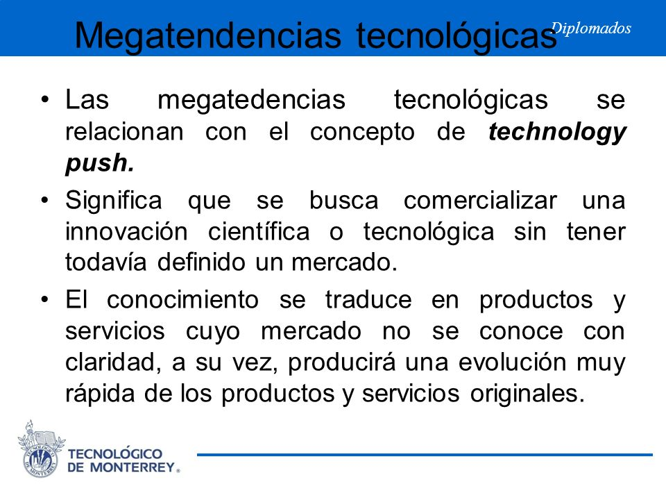 Megatendencias tecnológicas