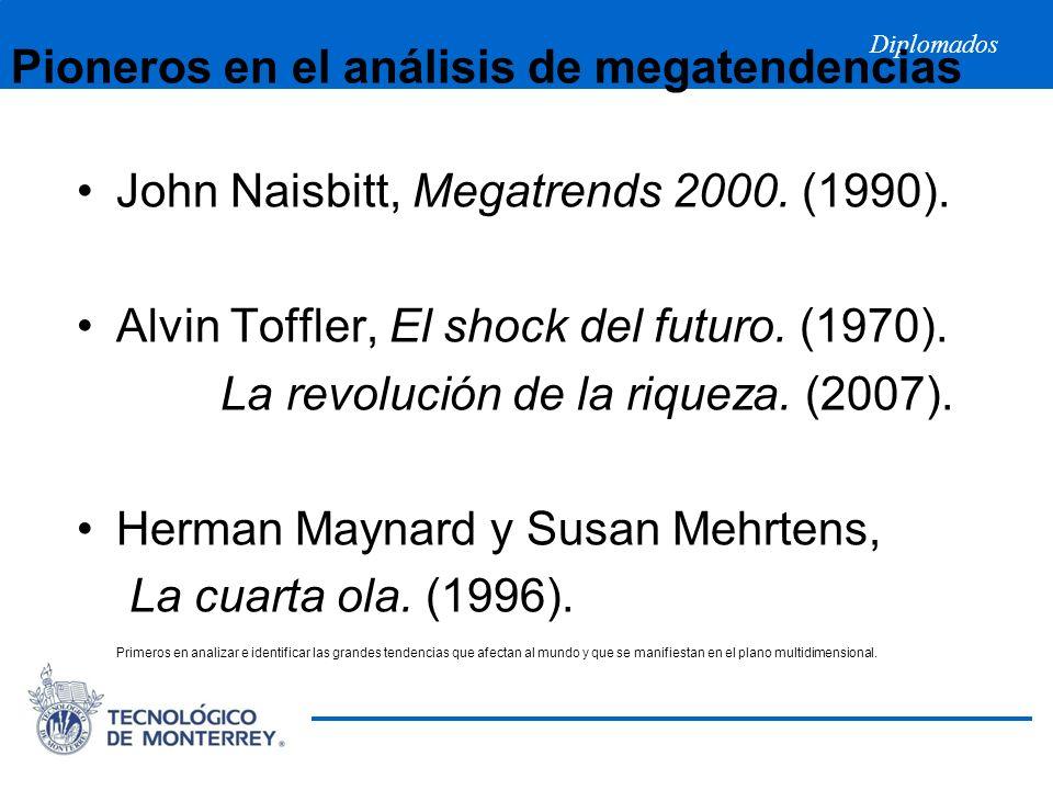 Pioneros en el análisis de megatendencias