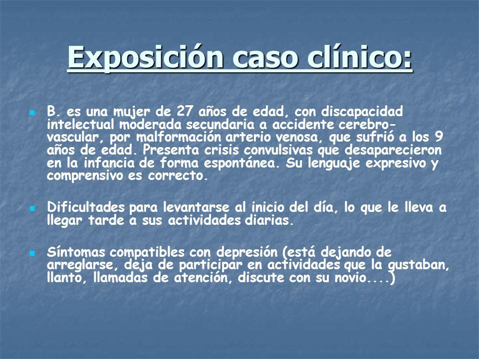Exposición caso clínico: