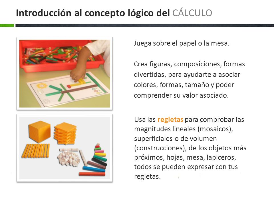 Introducción al concepto lógico del CÁLCULO