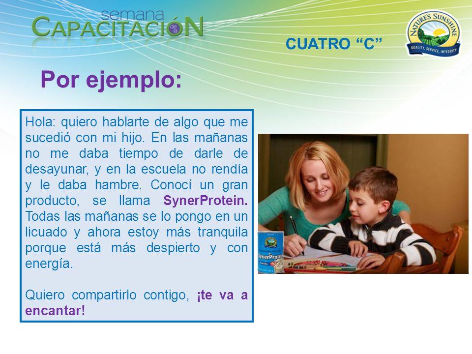 Por ejemplo: CUATRO C