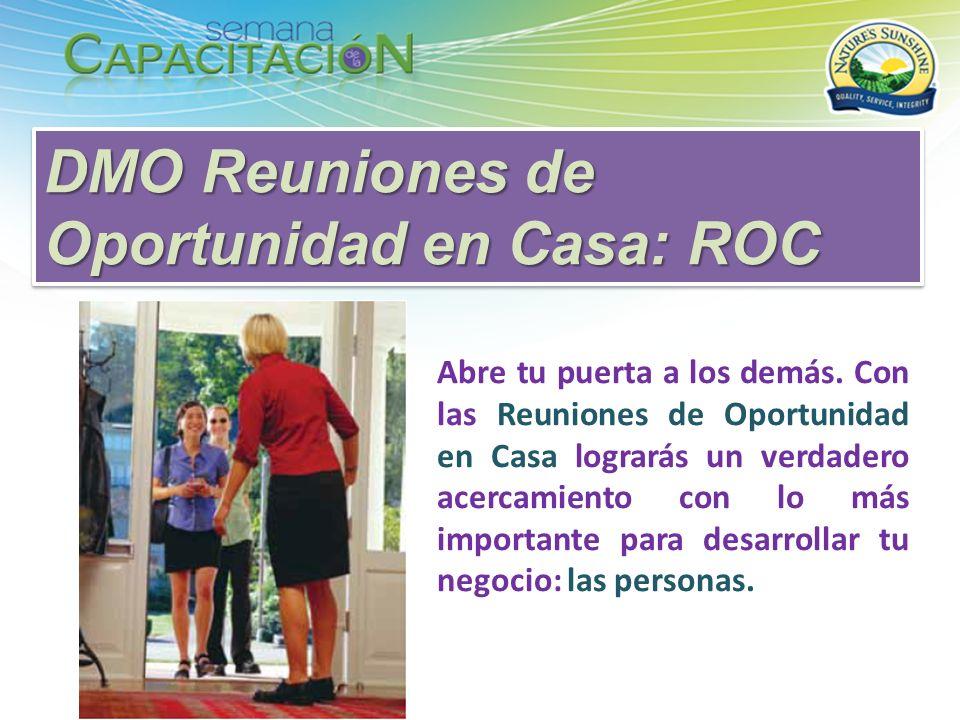 DMO Reuniones de Oportunidad en Casa: ROC