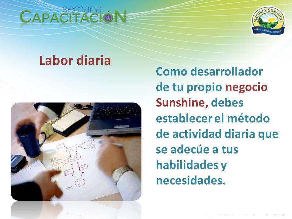 Labor diaria