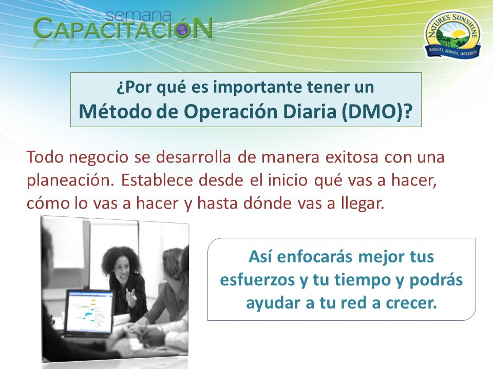 ¿Por qué es importante tener un Método de Operación Diaria (DMO)