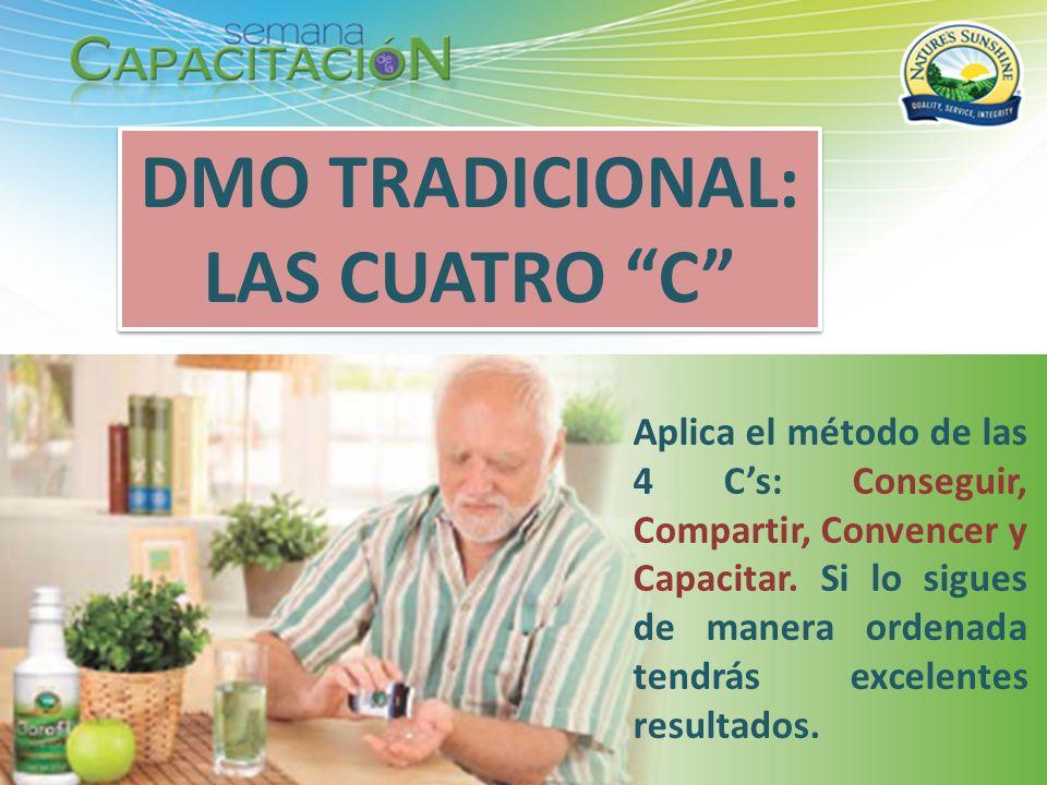 DMO TRADICIONAL: LAS CUATRO C