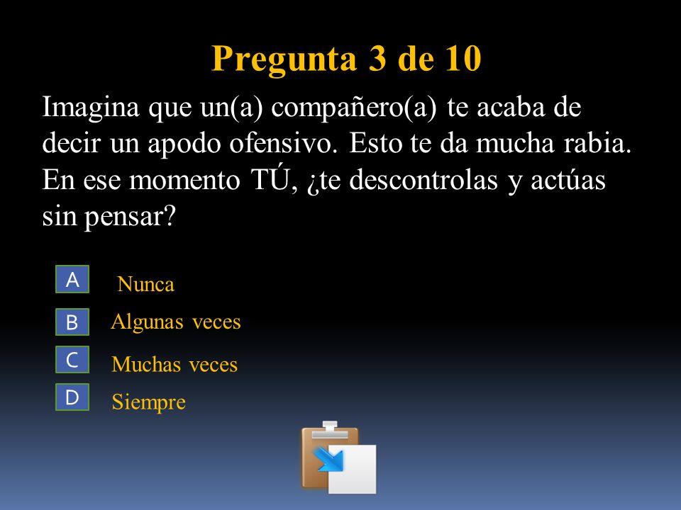 Pregunta 3 de 10