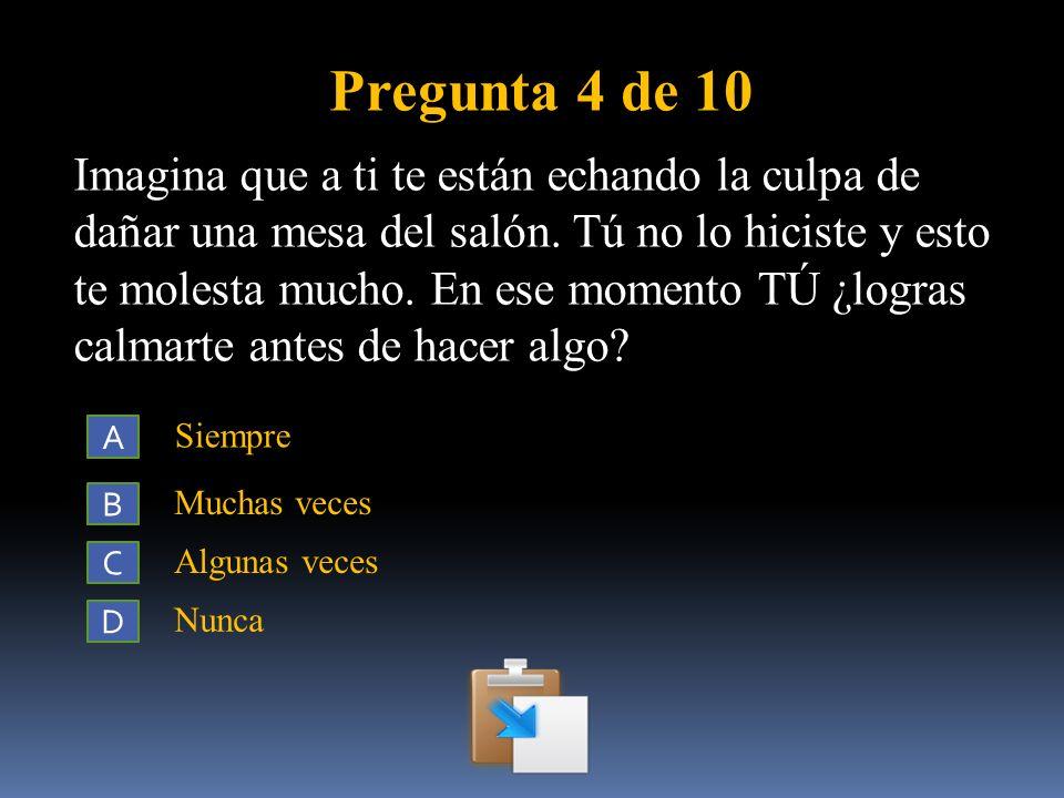 Pregunta 4 de 10