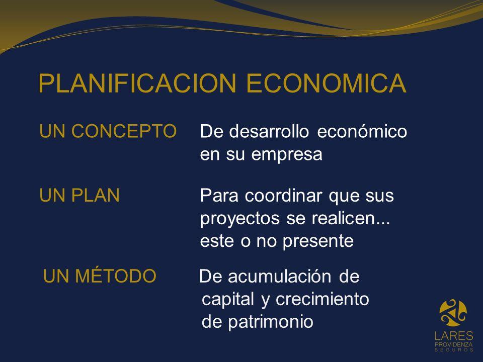 PLANIFICACION ECONOMICA
