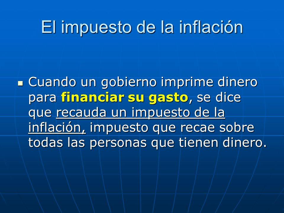 El impuesto de la inflación