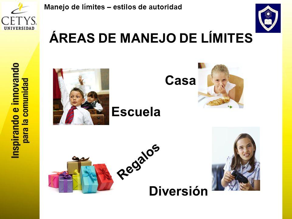 ÁREAS DE MANEJO DE LÍMITES