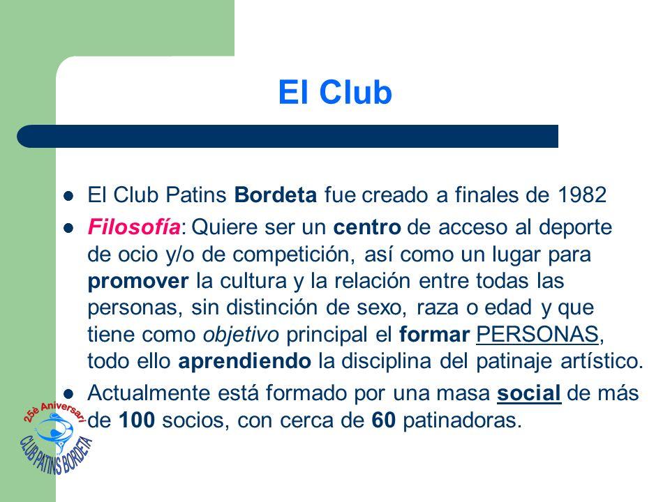 El Club El Club Patins Bordeta fue creado a finales de 1982