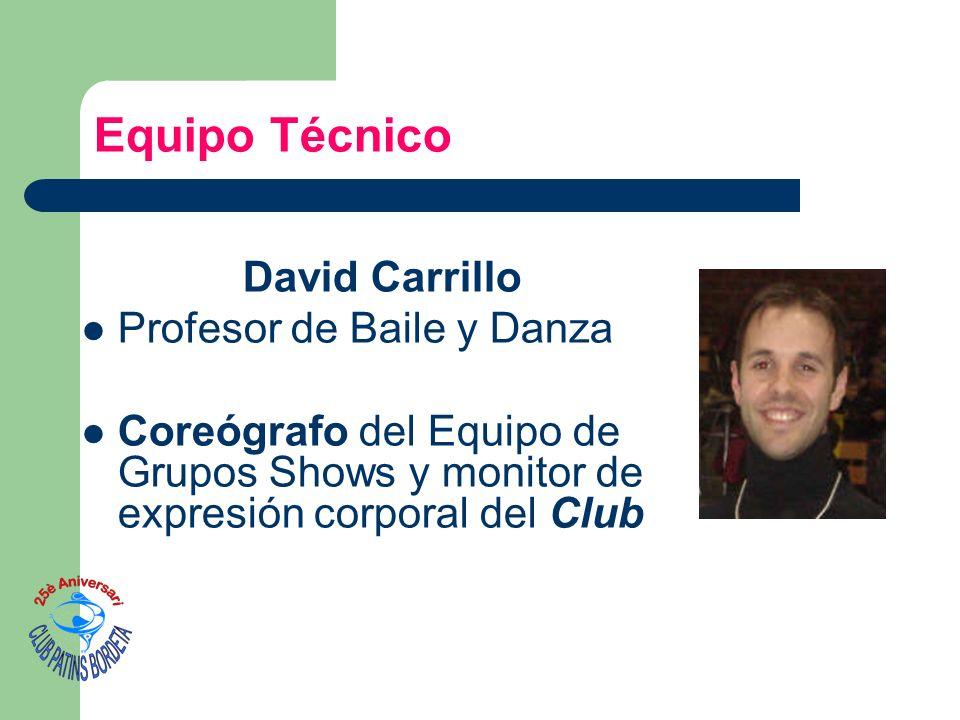 Equipo Técnico David Carrillo Profesor de Baile y Danza