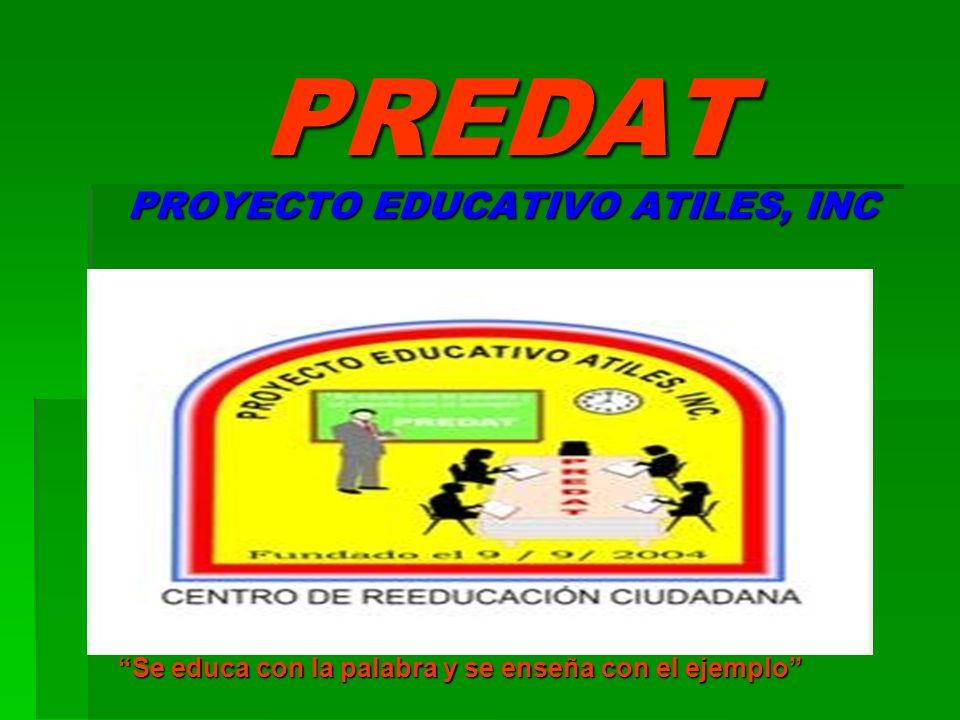 PREDAT PROYECTO EDUCATIVO ATILES, INC