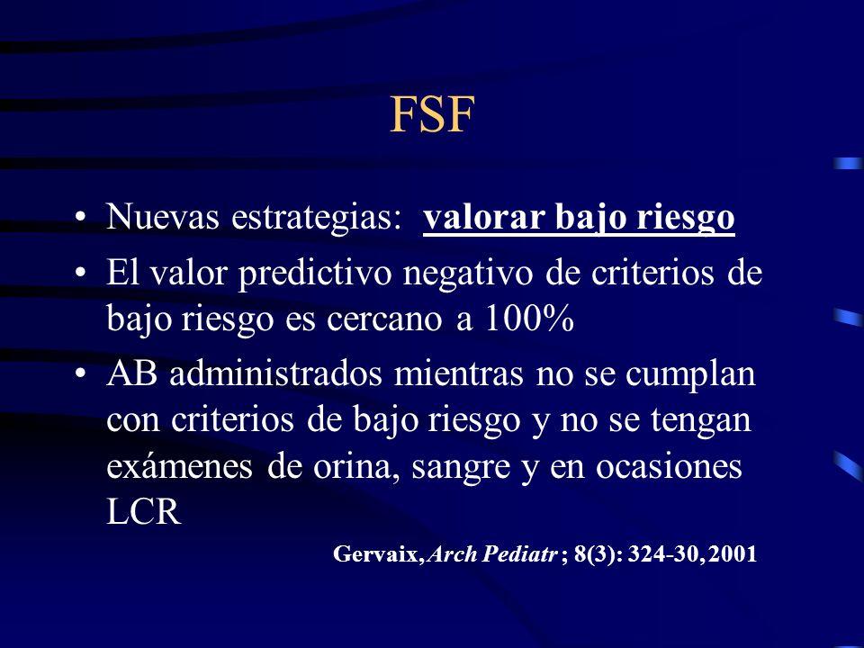 FSF Nuevas estrategias: valorar bajo riesgo