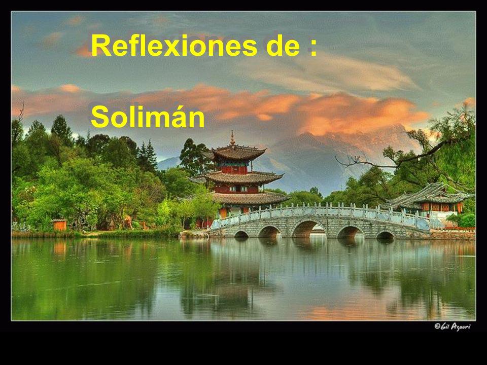 Reflexiones de : Solimán