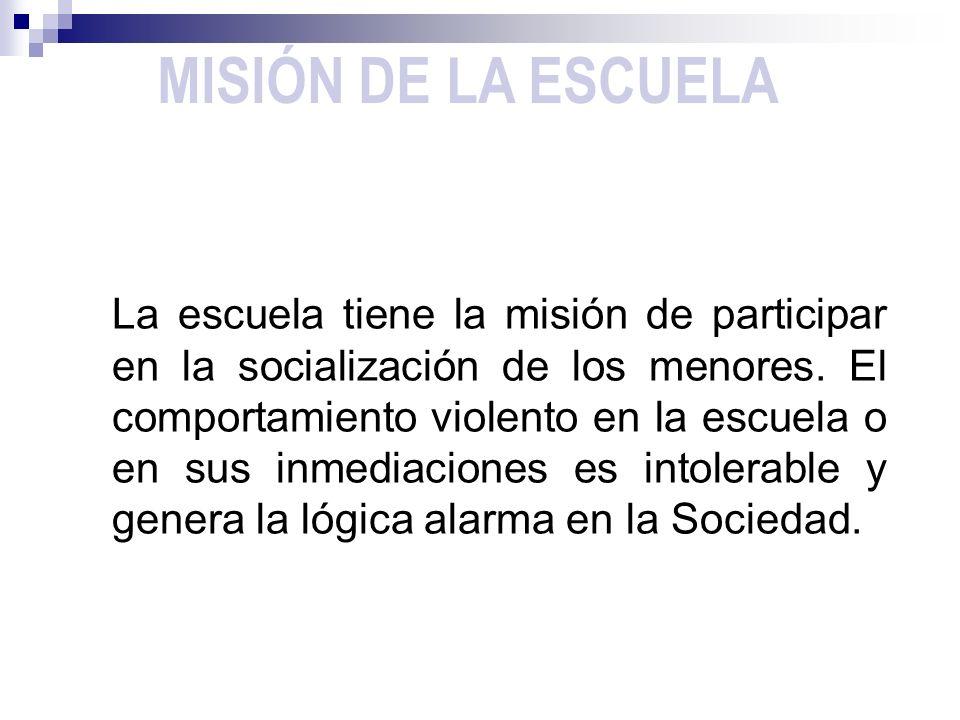 MISIÓN DE LA ESCUELA