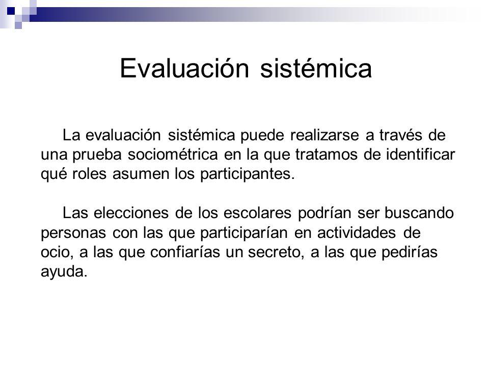 Evaluación sistémica