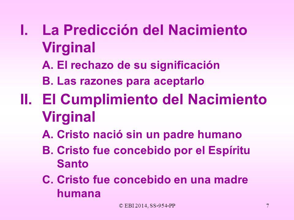 I. La Predicción del Nacimiento Virginal