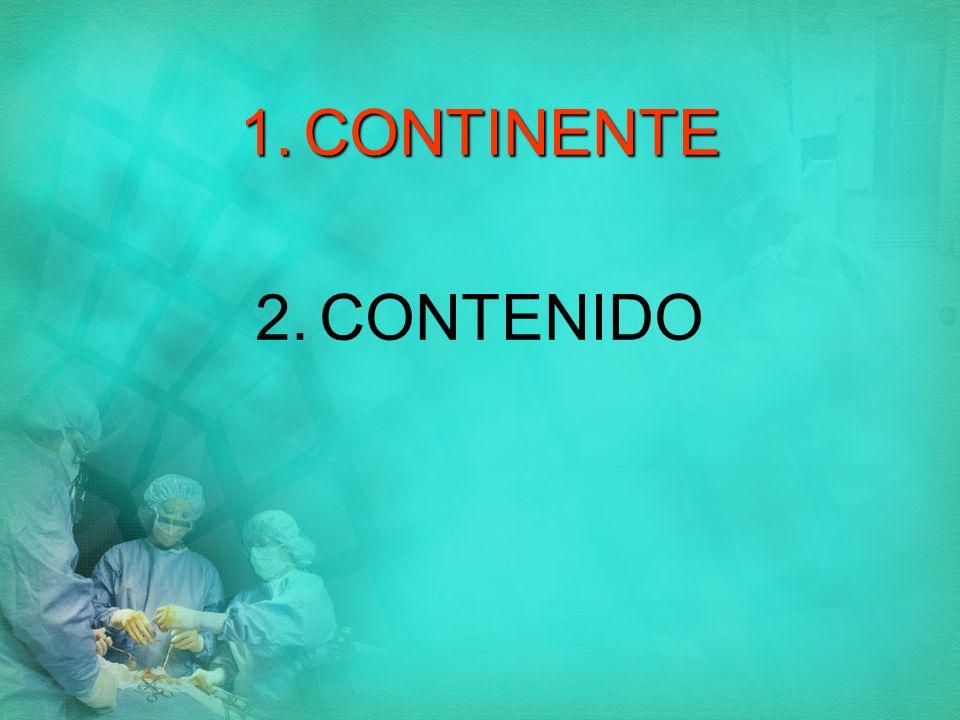 CONTINENTE CONTENIDO