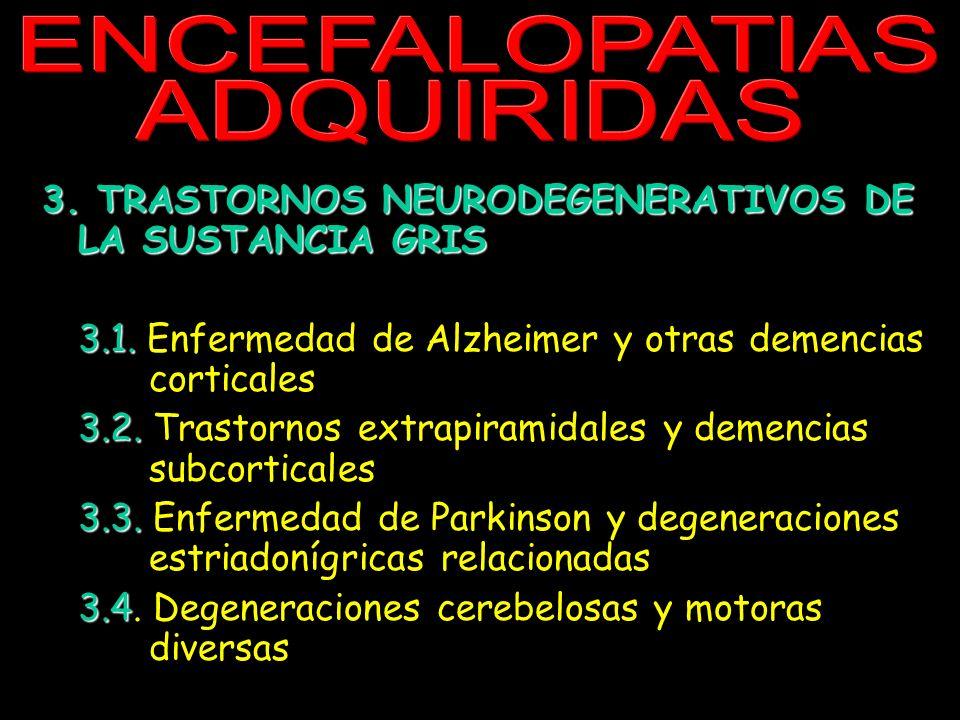 ENCEFALOPATIAS ADQUIRIDAS