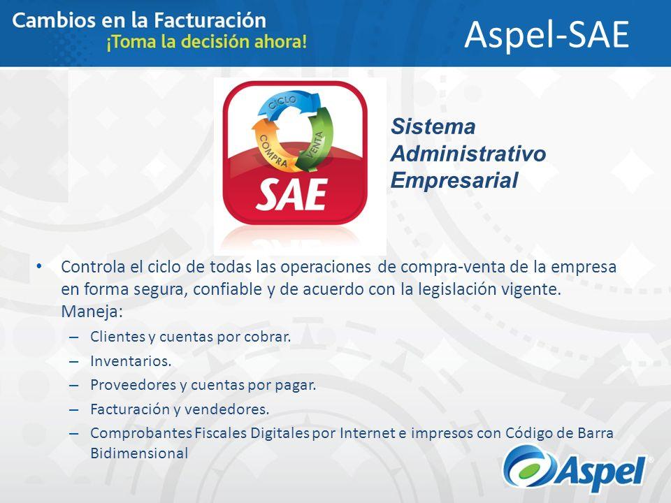 Aspel-SAE Sistema Administrativo Empresarial