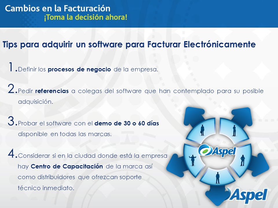 Tips para adquirir un software para Facturar Electrónicamente