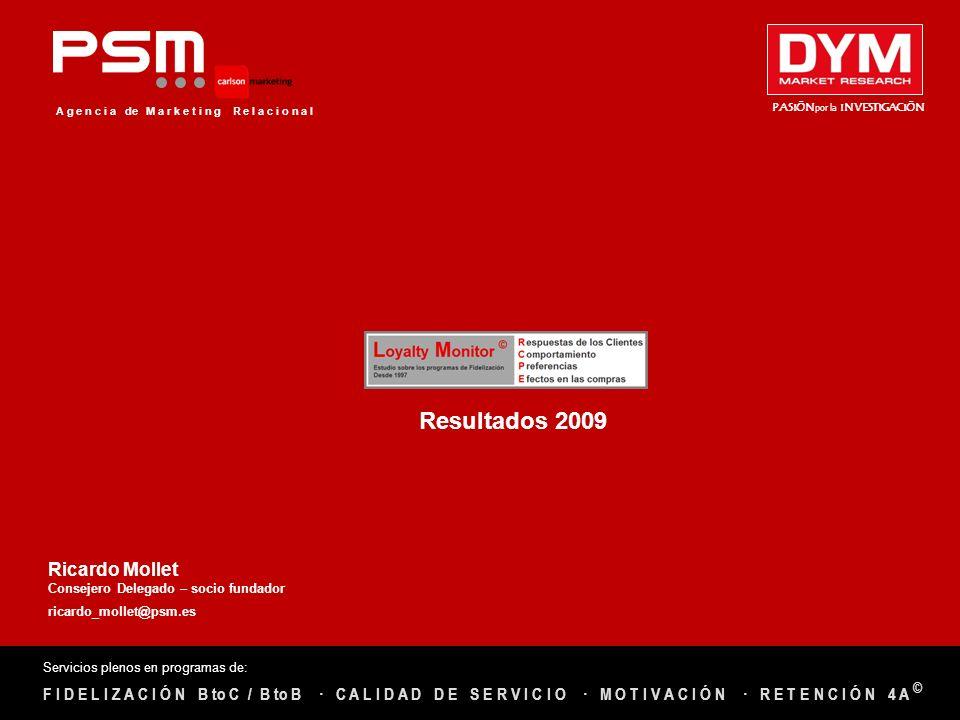 Resultados 2009 Ricardo Mollet · R E T E N C I Ó N 4 A ©