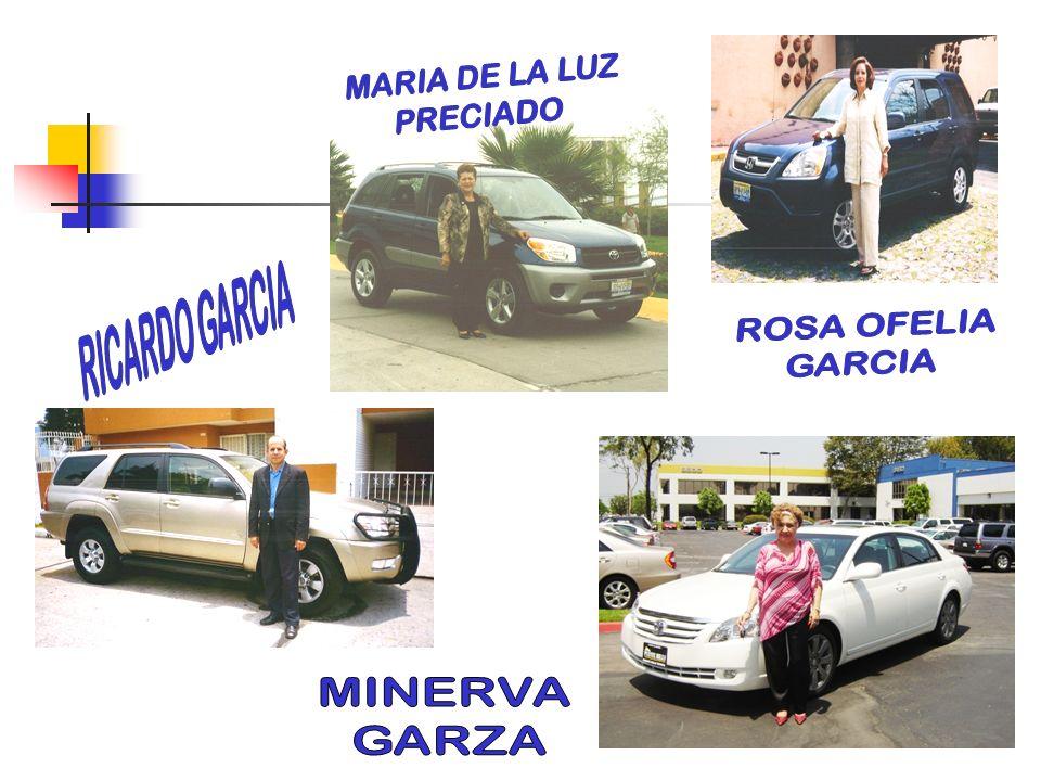 MARIA DE LA LUZ PRECIADO RICARDO GARCIA ROSA OFELIA GARCIA MINERVA GARZA