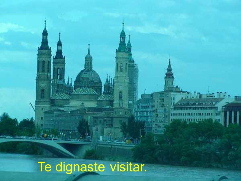 Te dignaste visitar.