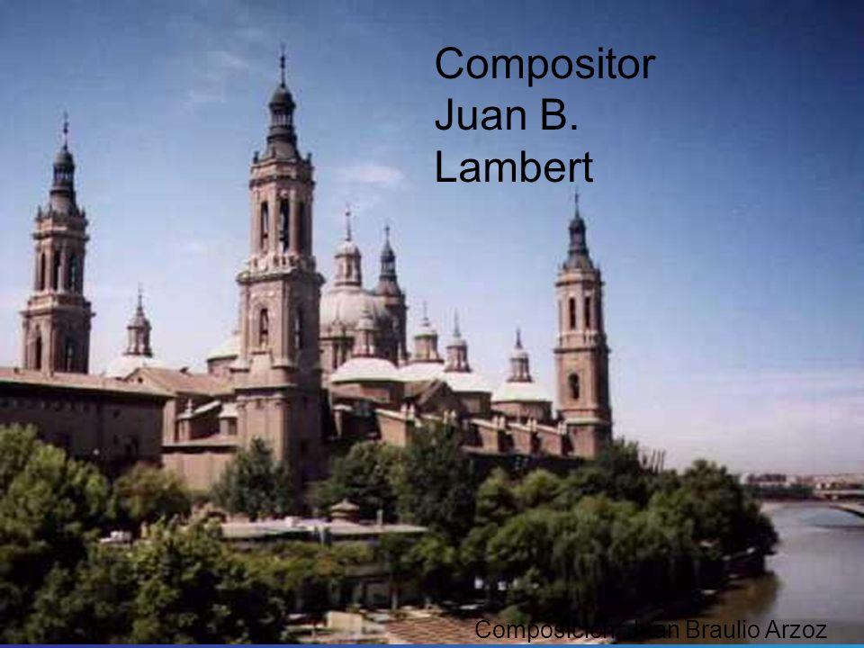 Compositor Juan B. Lambert