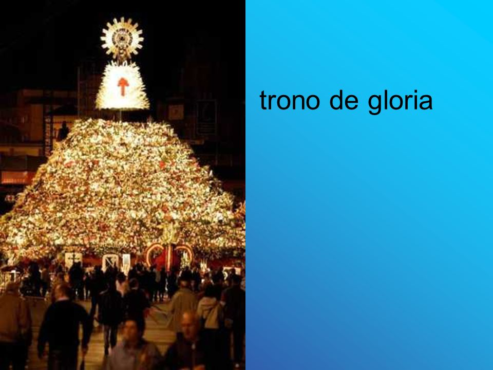 trono de gloria