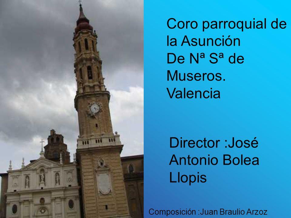 Coro parroquial de la Asunción De Nª Sª de Museros. Valencia