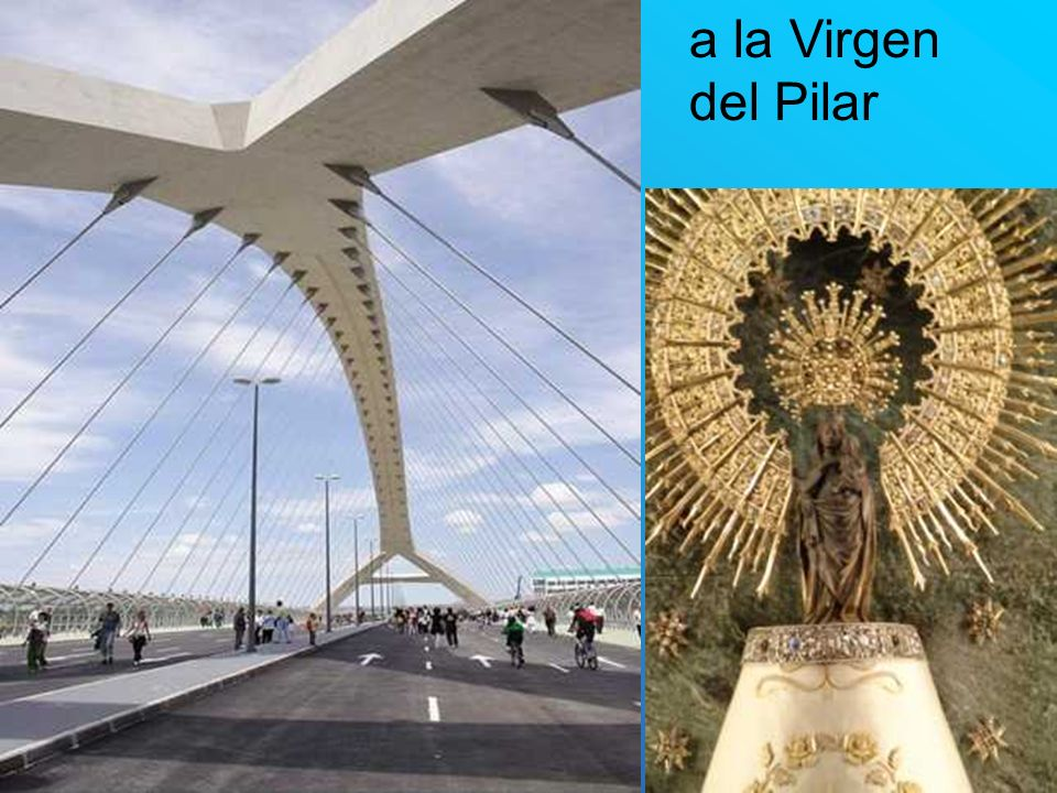 a la Virgen del Pilar