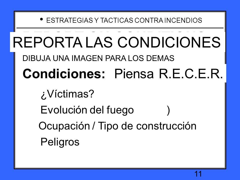 Conditions: Think R.E.C.E.O.