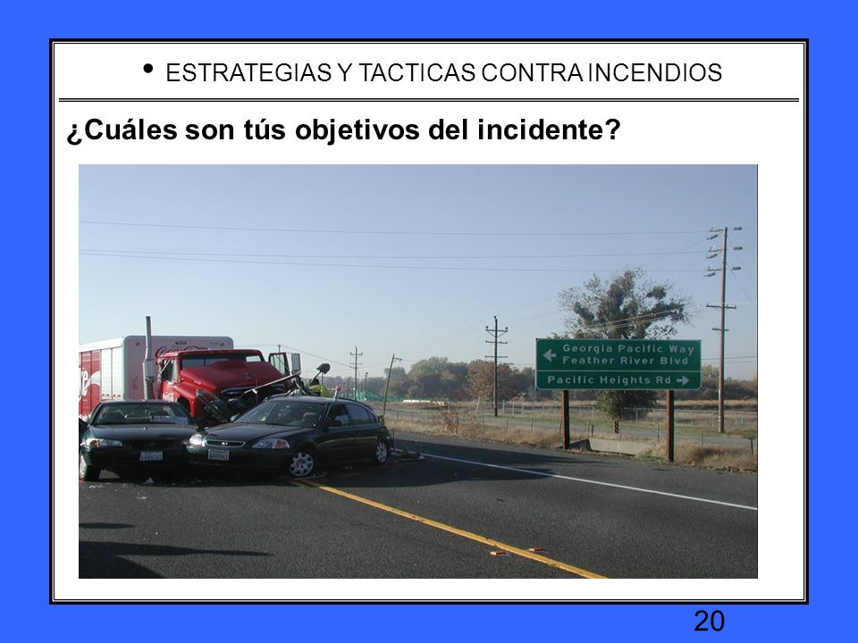 What are your incident objectives