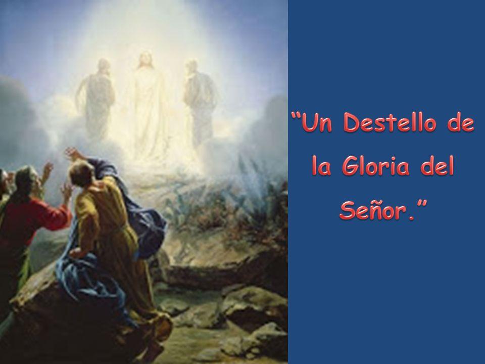 Un Destello de la Gloria del Señor.